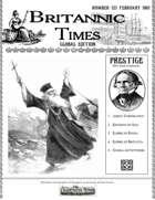 Scramble for Empire Victorian Steampunk wargames campaign newspaper February 1861