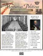 Glory of Kings December 1702 18th century wargames campaign newspaper