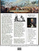 Glory of Kings January 1703 18th century wargames campaign newspaper