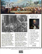 Glory of Kings February 1703 18th century wargames campaign newspaper