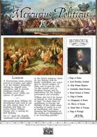 Glory of Kings April 1703 18th century wargames campaign newspaper