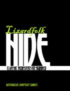 Lizardfolk Hide: Reptilians Reskinned (PFRPG)