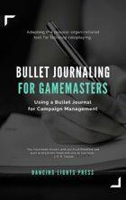 Bullet Journaling for Gamemasters