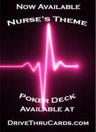 Nurse Theme Poker Deck Heart Attack ed