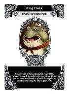 King Croak - Custom Card