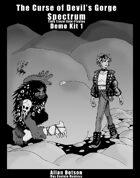 Spectrum - Curse of Devil's Gorge demo