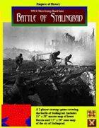 The Battle of Stalingrad Board Game