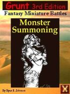 3rd Ed: Grunt Monster Summoning Sourcebook