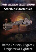 Black Sun Wars RPG Starship Starter set