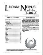Libram Novus #2