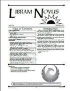 Libram Novus #3