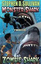 Monster Shark - Zombie Shark Twofer