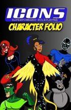 ICONS Character Folio