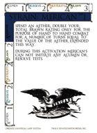 Strain: Merican - Custom Card