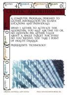 Cryptic Algorithm - Custom Card