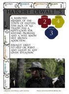 Hatchet Dewalt - Custom Card