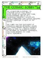 The Cosmic Lobby - Custom Card