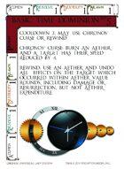 Basic Time Dominion - Custom Card