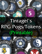 Tintagel's RPG Pogs/Tokens (printable)