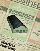 Storage Unit Buildings