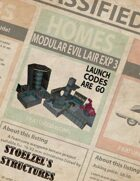Modular Evil Lair: Expansion 3 Launch codes are go