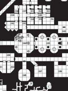 Barrowmaze I and II Map (Hi-Res)
