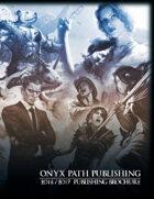 Onyx Path 2016-2017 Publishing Brochure