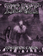 Beast: The Primordial Condition Cards