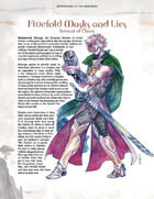 Adversaries of the Righteous: Fivefold Masks and Lies