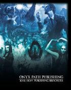 Onyx Path 2018-2019 Publishing Brochure
