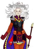 Elf Priestess