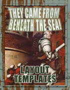 They Came From Beneath the Sea! Layout Templates