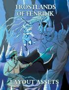 Slarecian Vault Frostlands of Fenrilik 5e Template (InDesign)