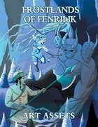 Slarecian Vault Frostlands of Fenrilik Art Assets