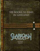 100 Books to Find in Ghelspad