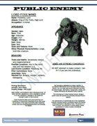 Public Enemy: Lord Foulwind