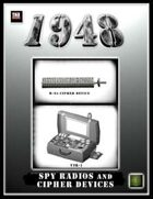 1948: Spy Radios and Cipher Devices