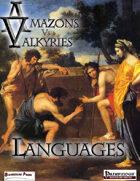 Amazons vs Valkyries: Languages