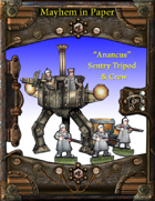 Cog Cruiser:Sentry Tripod