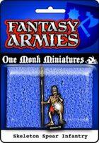 Undead Army: Skeleton Spear Regiment