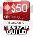 Dungeon Masters Guild $50 Gift Certificate/Account Deposit