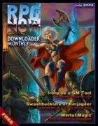 Downloader Monthly - Jul 2003
