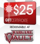 WargameVault $25 Gift Certificate/Account Deposit