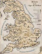 Map of Arthur's Britain