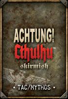 Achtung! Cthulhu Skirmish Card Deck