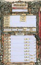 Conan Character Sheets