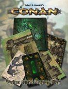 Conan: Perilous Ruins & Forgotten Cities Geomorphic Tiles Set - PDF