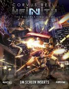 Infinity: GM Screen & CODE: INFINITY — CLASSIFIED
