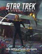 Star Trek Adventures: Operations Division supplement