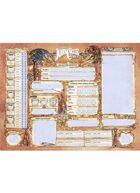 John Carter of Mars: Character Sheets